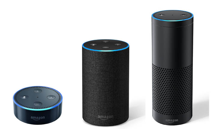 Assitants vocaux Alexa Echo Amazon