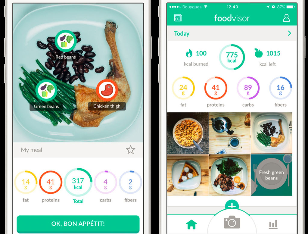Application Foodvisor