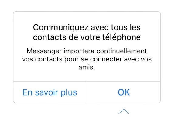 Facebook Messenger Contacts