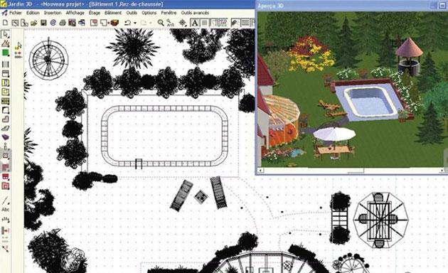 jardin et votre cour en 3D avec ce logiciel  Francoischarroncom