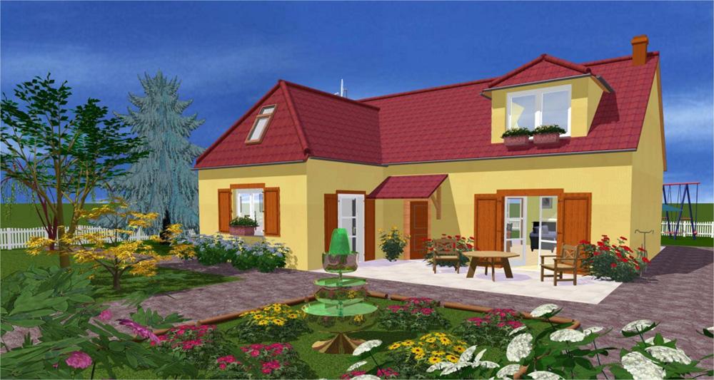 Construisez la maison et l 39 am nagement de vos r ves sur for Amenagement exterieur 3d