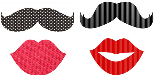 accessoires et d guisements imprimer pour un photobooth de no l. Black Bedroom Furniture Sets. Home Design Ideas