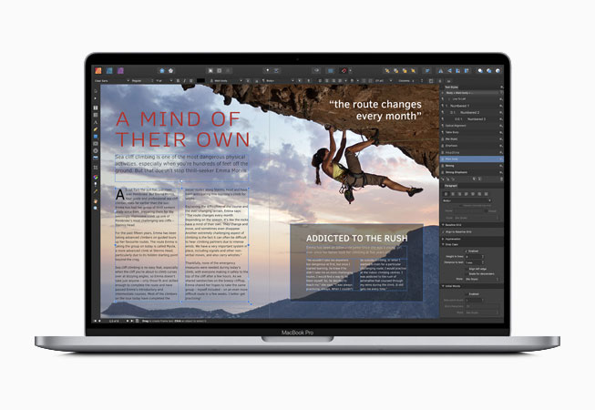 Affinity Publisher meilleure App MacBook