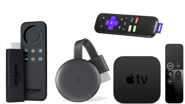 Fire TV Chromecast Apple TV Roku
