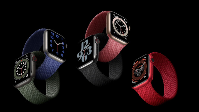 Apple Watch Series 6 montres intelligentes