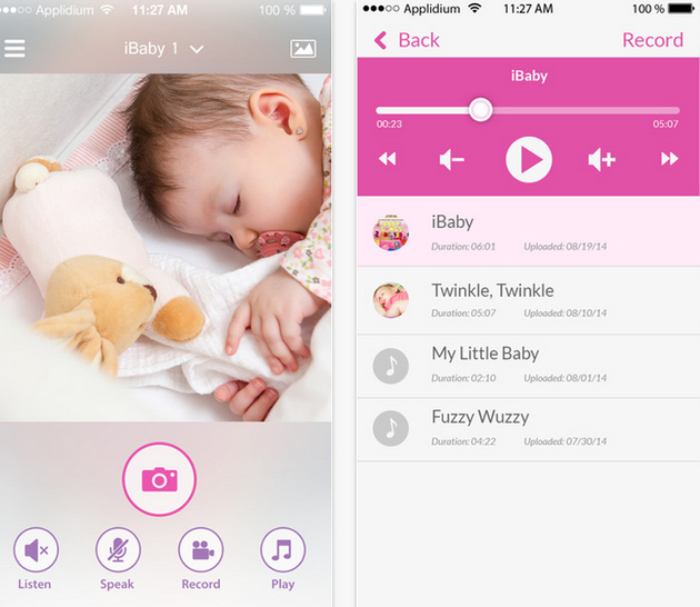 Application iBaby Care