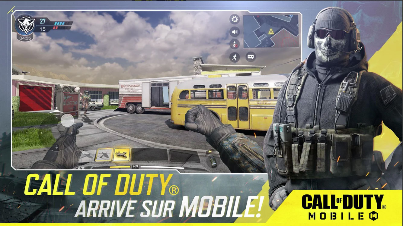 Call of Duty mobile meilleur jeux Android 2019