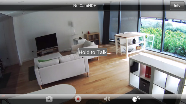 surveiller sa maison distance sur son t l phone avec la cam ra netcam hd. Black Bedroom Furniture Sets. Home Design Ideas
