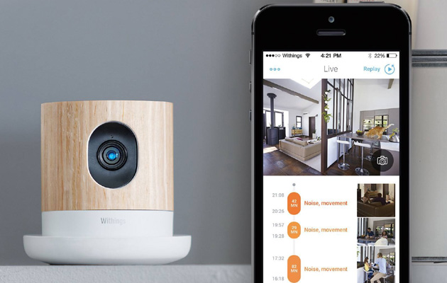 une cam ra de surveillance qui mesure aussi la qualit de l 39 air. Black Bedroom Furniture Sets. Home Design Ideas