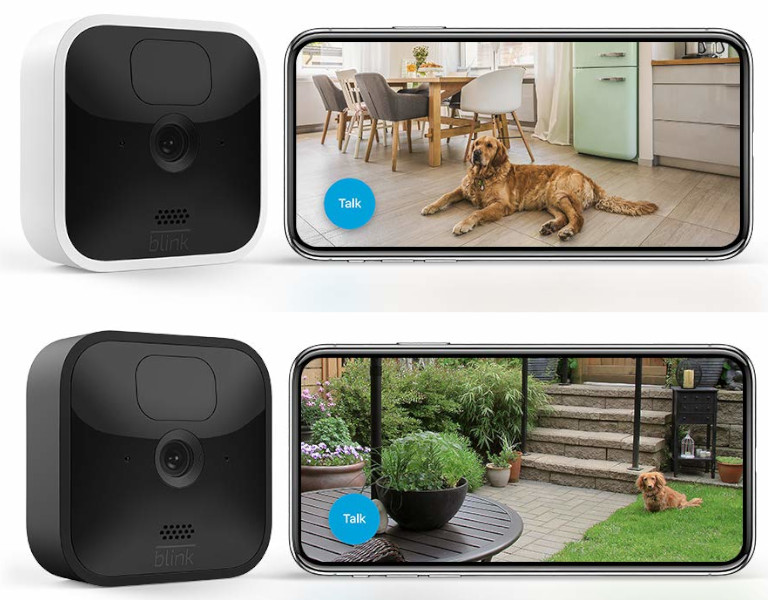 Caméra surveillance sécurité Blink Indoor Outdoor téléphone intelligent