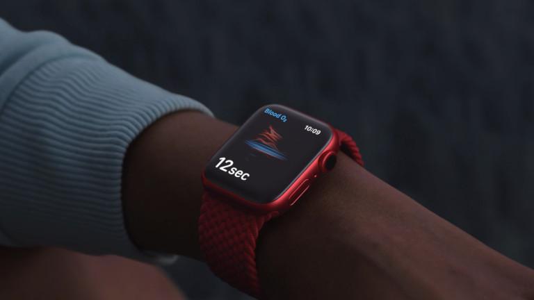 Capteur taux oxygène dans le sang Apple Watch Series 6