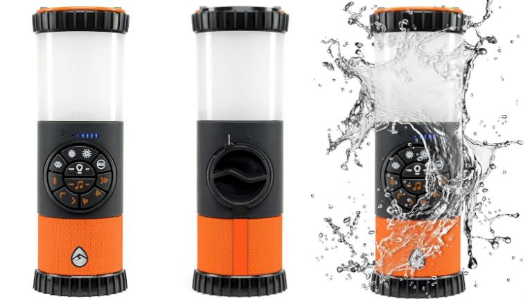 L'EcoLantern est résistant à l'eau.