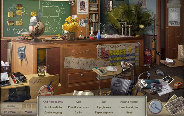 Enigmes objets caches Letters from Nowhere