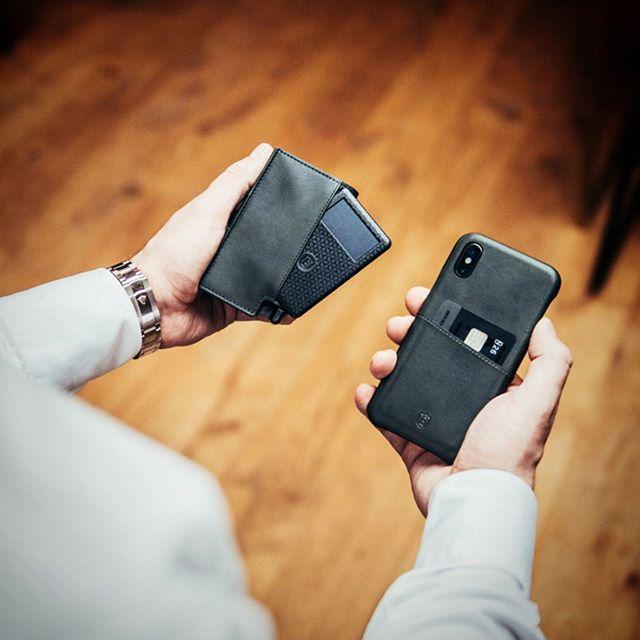Ekster Tracker card localisation portefeuille téléphone intelligent