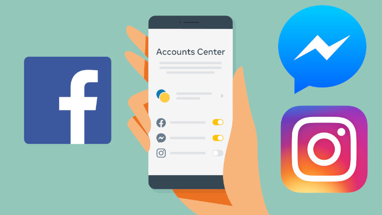 Facebook Accounts Center Instagram Messenger