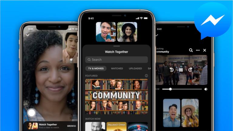 Facebook Watch Together Messenger