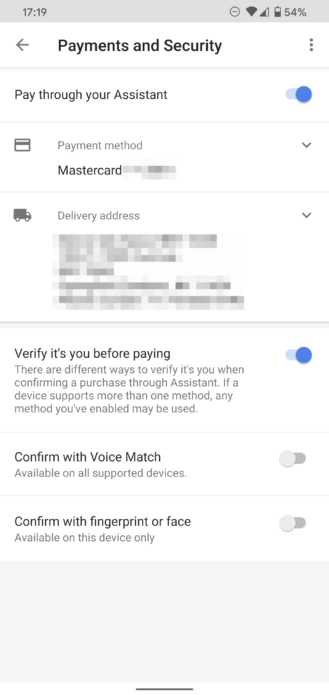 Voice Match achat en ligne assistant vocal Google