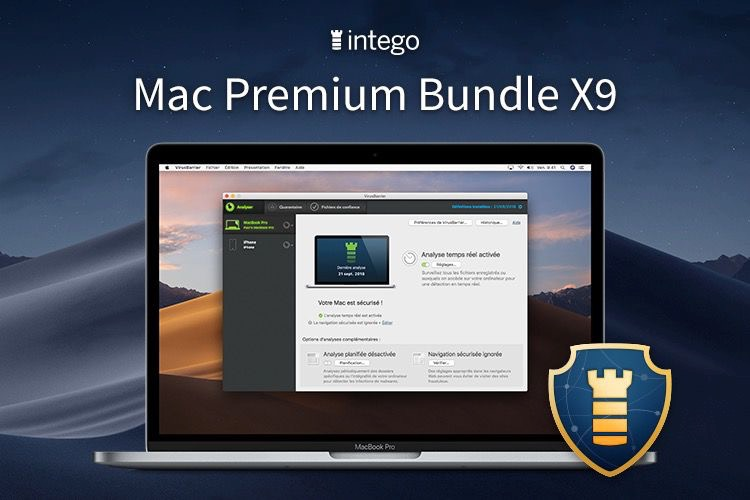 Intego Mac Prenium Bundle X( antivirus Apple