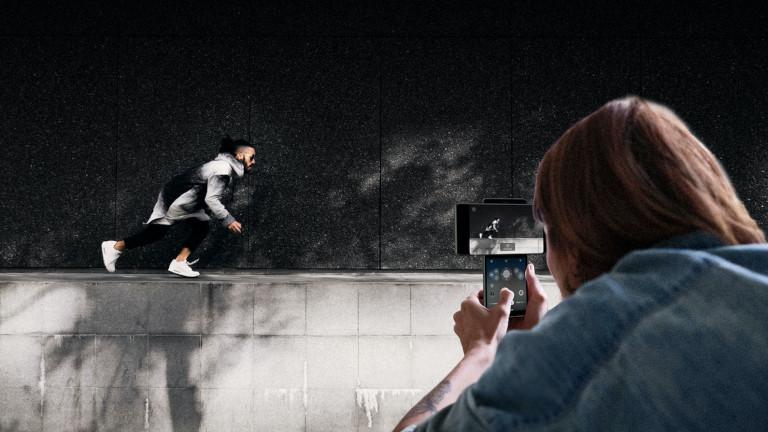 LG Wing téléphone vidéo