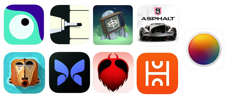 Apple Design Awards meilleures applications