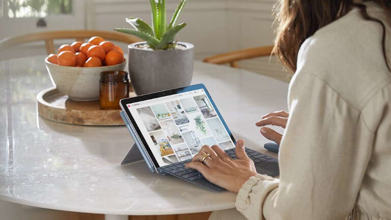 Microsoft Surface Go 2 tablette ordinateur portable