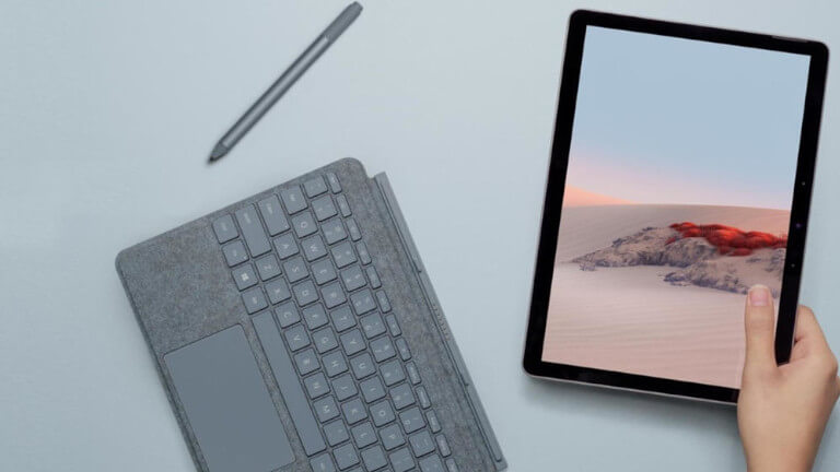 Microsoft Surface Go 2 clavier stylet tablette ordinateur