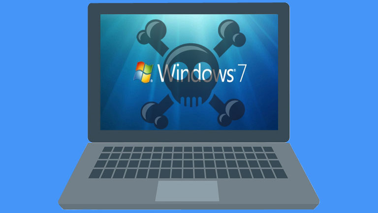 Microsoft fin support Windows 7 ordinateur PC