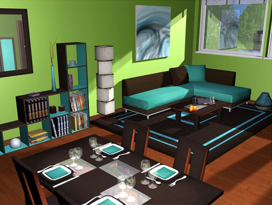 logiciel design interieur 3d t l chargement s curis. Black Bedroom Furniture Sets. Home Design Ideas