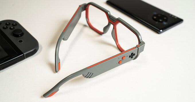 Mutrics lunettes gamers lumières bleue haut-parleur Bluetooth