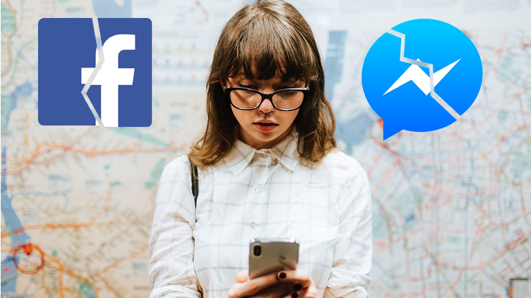 Panne Facebook canular Messenger perdre contact actif inactif 24h