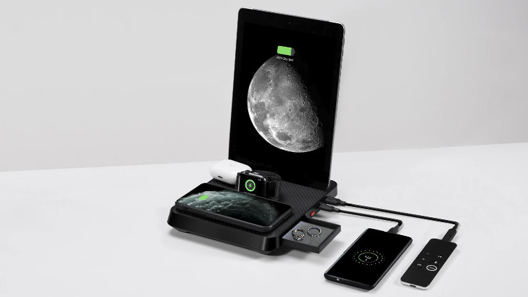Pitaka Air Omni recharge iPhone iPad AirPods Apple Watch