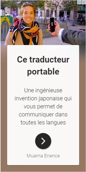 Le traducteur instantané de langues Muama Enence, efficace