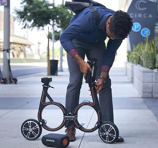 Smarcircle vélo bicylette pliable
