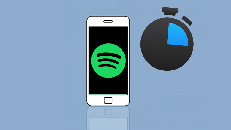 Spotify application Android minuterie mode veille