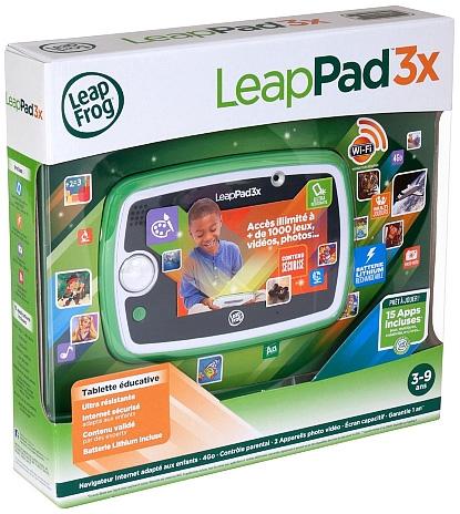 leappad 3x une tablette avec que du contenu ducatif adapt aux enfants. Black Bedroom Furniture Sets. Home Design Ideas