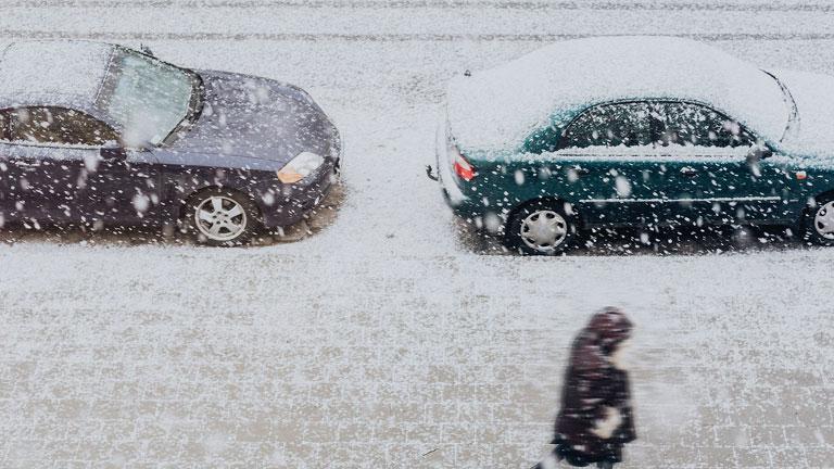 Chute de neige et routes enneigées, Waze nous avertit en