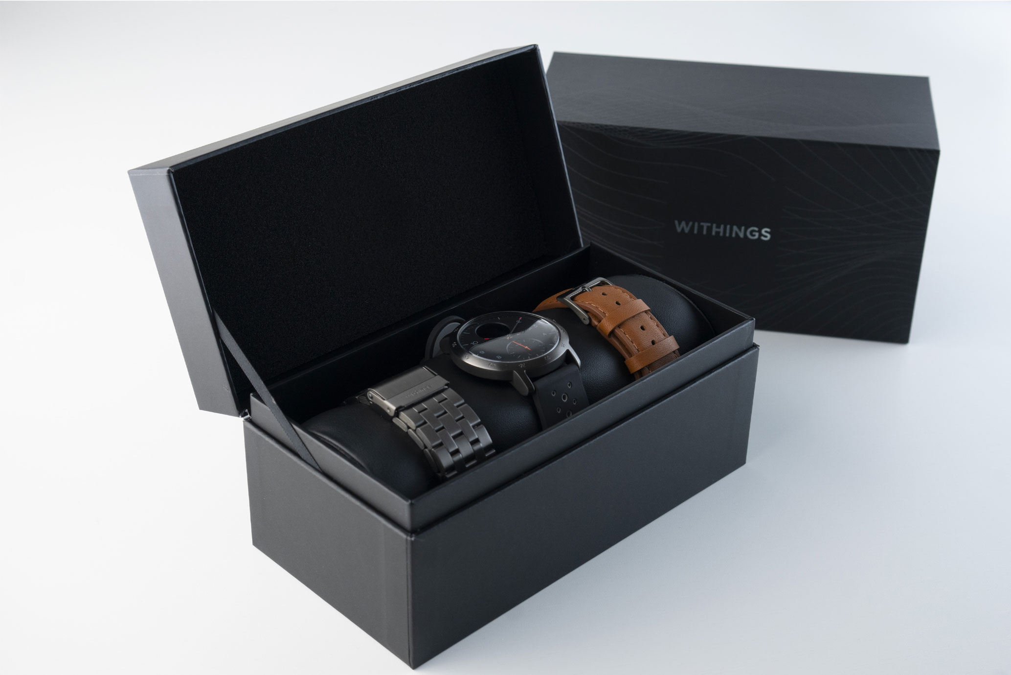 Coffret Withings Steel HR Sport