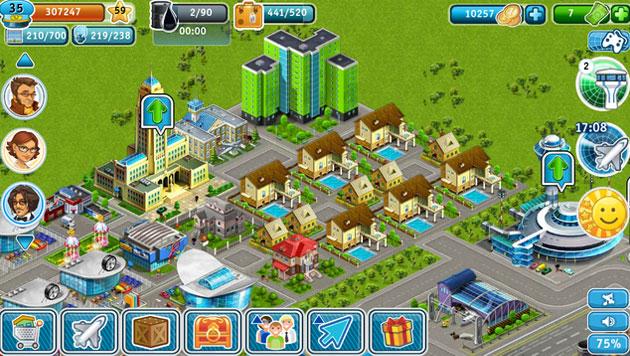 g rer et construire un a roport dans le jeu airport city. Black Bedroom Furniture Sets. Home Design Ideas