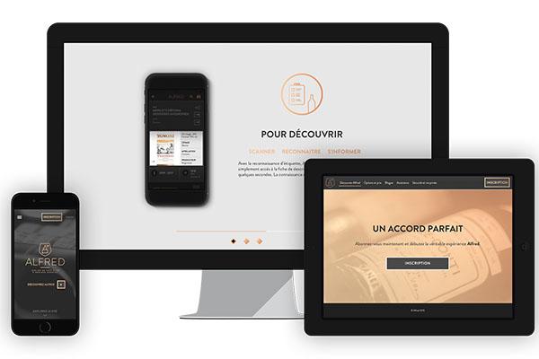 une app compl te pour les amateurs de vins. Black Bedroom Furniture Sets. Home Design Ideas
