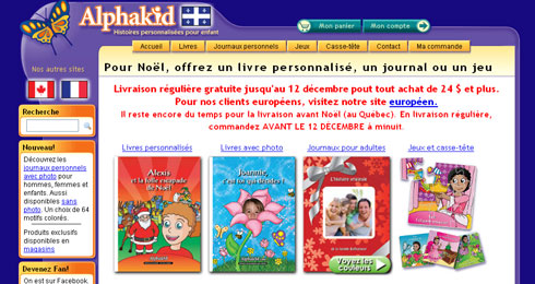 Un Livre Personnalise Pour Les Enfants Et Une Application