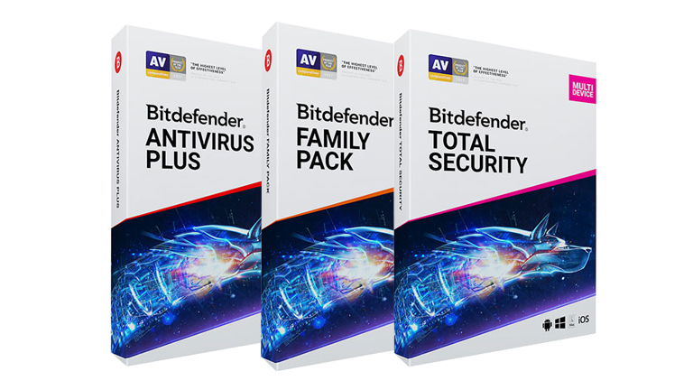 Antivirus Bitdefender 2019 Family Pack Totl Security