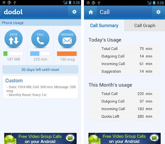 application Dodol Phone