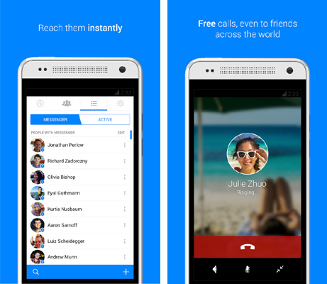 Application Facebook Messenger