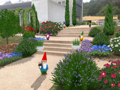 Application MyGarden 3D
