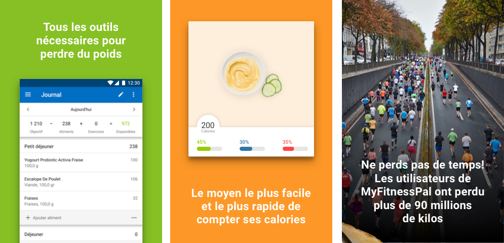 Application MyFitnessPal