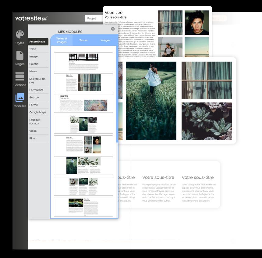 2510fa71154 Créez facilement votre site web avec le nouveau créateur de ...