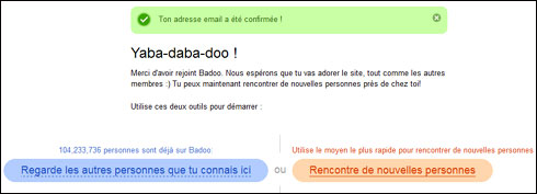 Site de rencontre badoo inscription