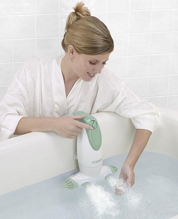 transformez votre baignoire en spa. Black Bedroom Furniture Sets. Home Design Ideas