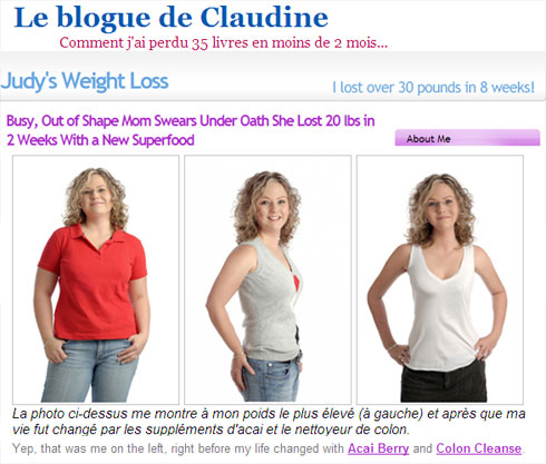 Image du blogue de Claudine - Judy