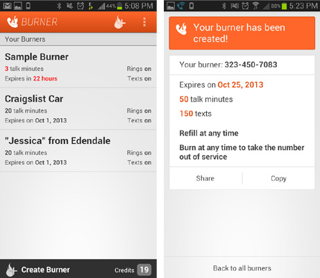 Une app pour éviter de donner votre vrai numéro de téléphone ... 7d49aadeb74e